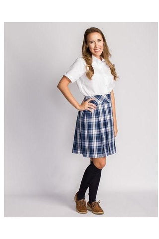 Plaid 85 Low-Rise Skirt - RC Uniforms