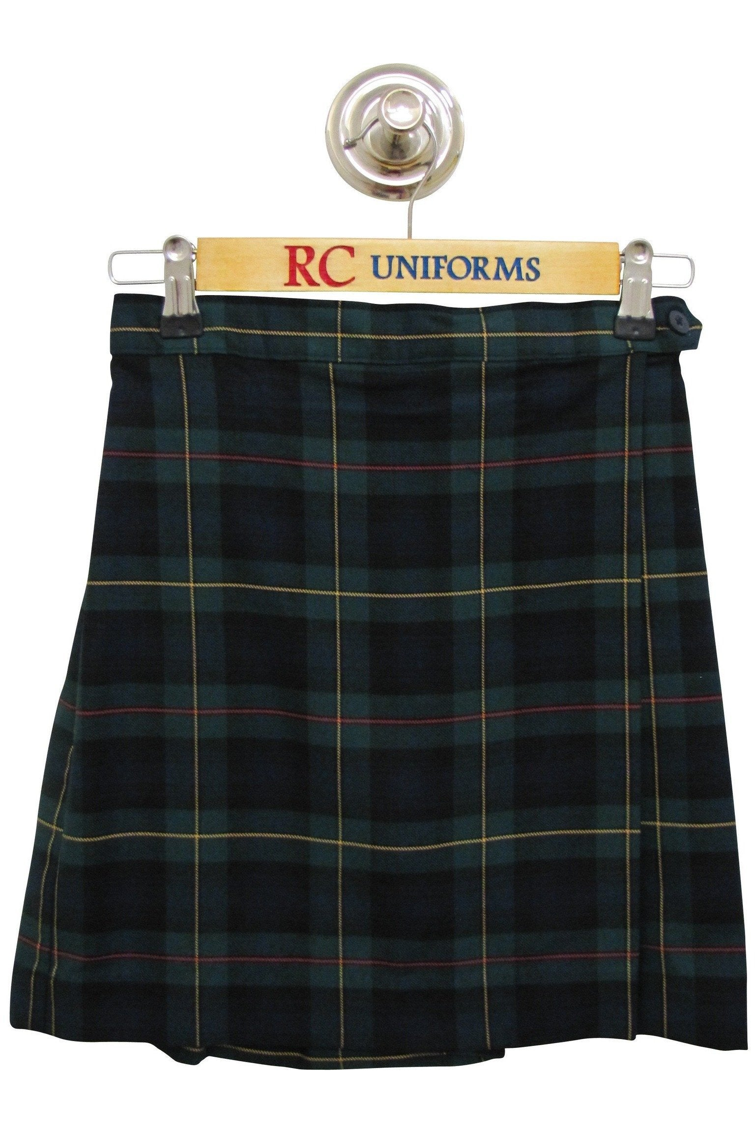 Plaid 832 Flap Skort - RC Uniforms