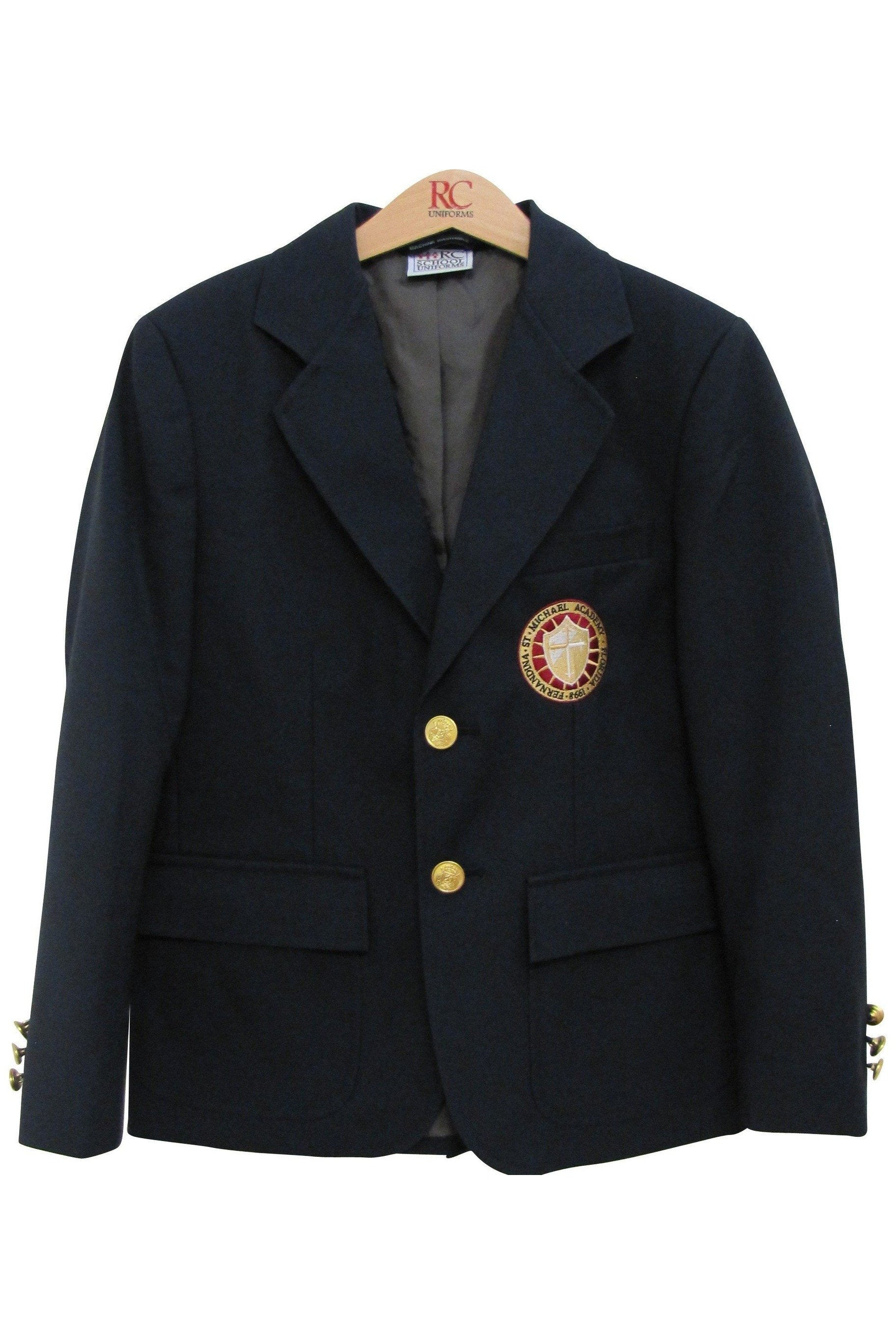 Navy Blazer - RC Uniforms