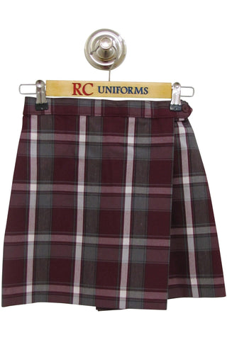 Plaid 54 Flap Skort