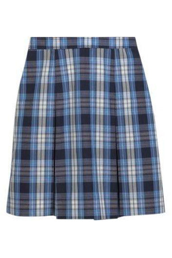 Plaid 76 Kick-Pleat Skirt - RC Uniforms