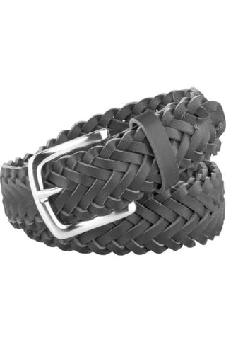 RC Uniforms Black Braided Belt