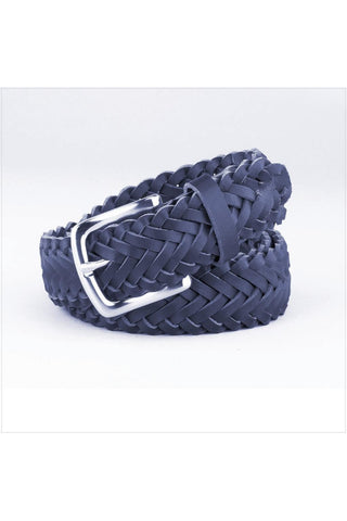 Navy Braided Belt - RC Uniforms