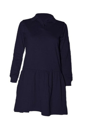 Long Sleeve Polo Dress - RC Uniforms