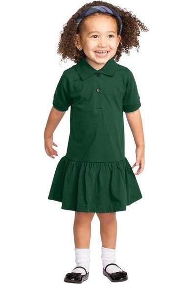 Short Sleeve Polo Dress - RC Uniforms