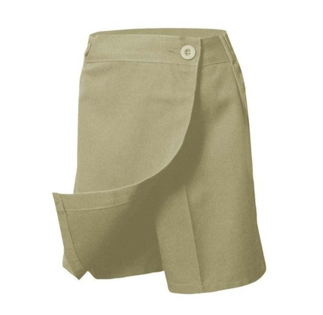 Black or Khaki Flap Skort - RC Uniforms