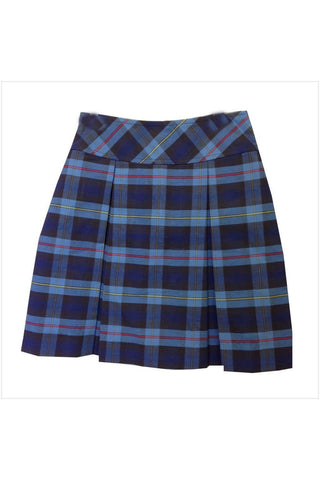 Plaid 41 Flat Back Two-Pleat Skirt - RC Uniforms