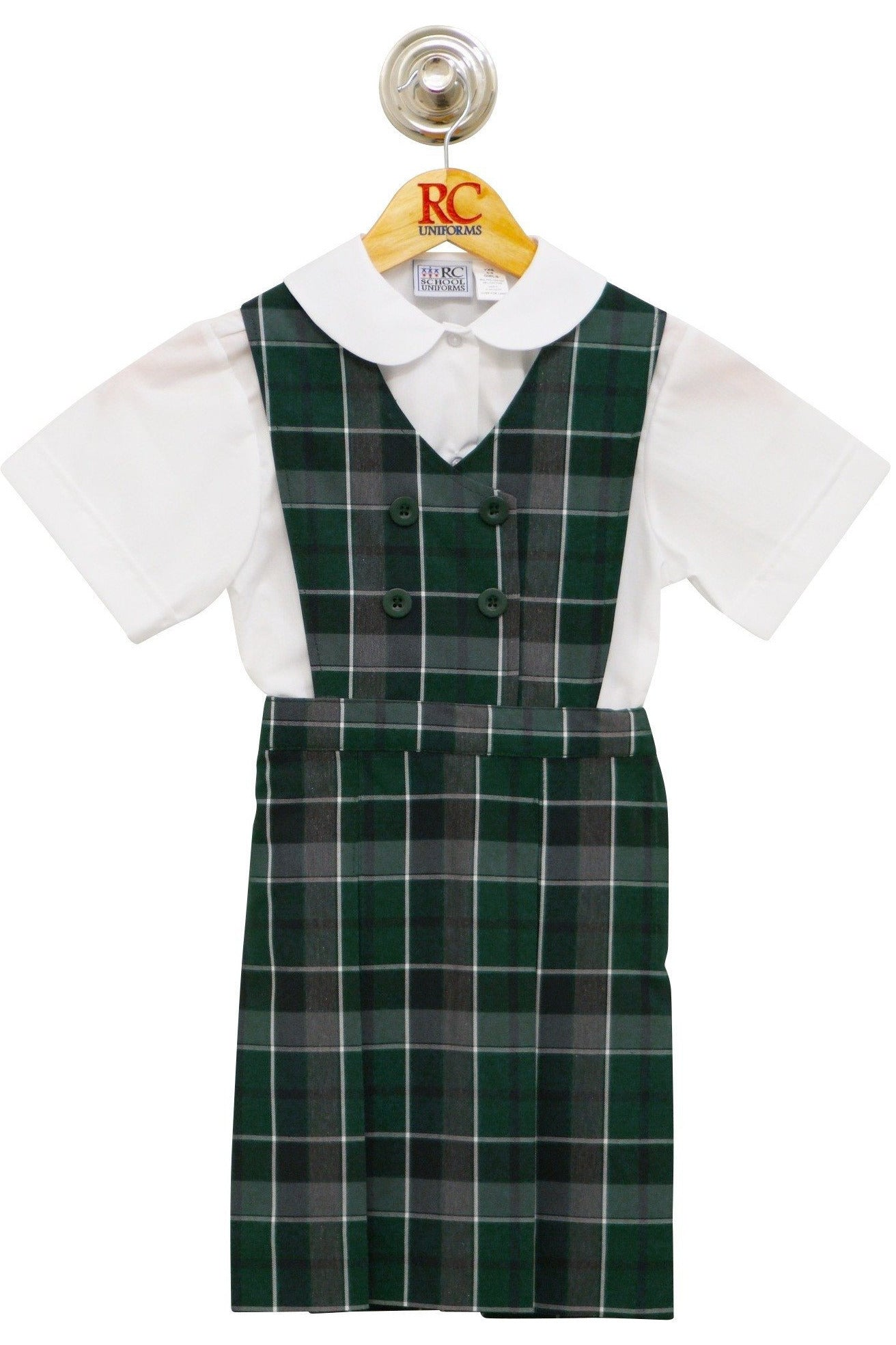 Plaid 75 Double-Breasted Jumper - RC Uniforms