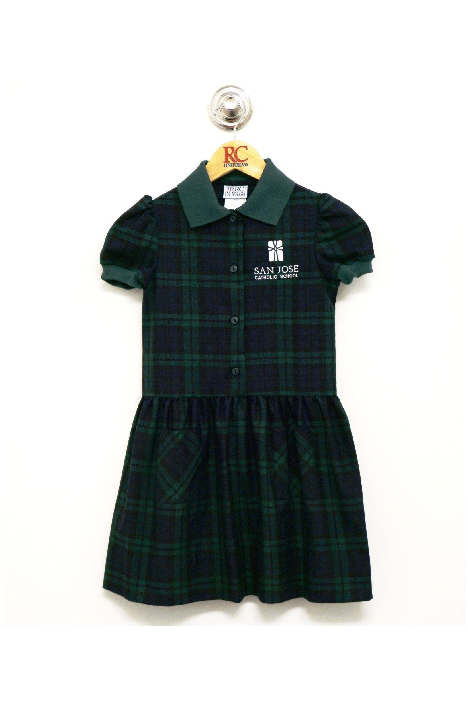 Plaid 189 Alice Dress - RC Uniforms
