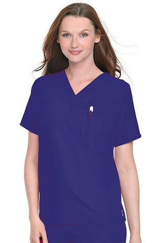 Cosmetology Scrub Top - RC Uniforms