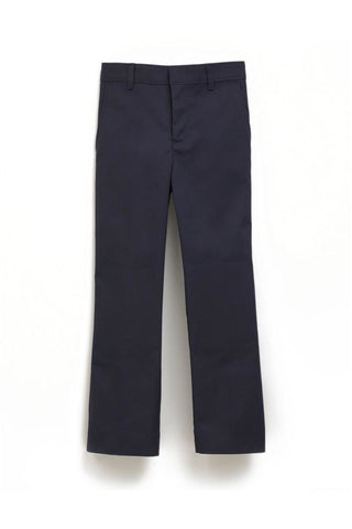 Mens Premium Label Navy Flat Front Pants - RC Uniforms