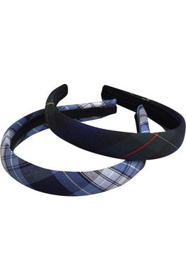 Plaid Headband - RC Uniforms