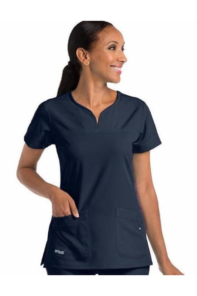 Grey's Anatomy Yoke Neck Top