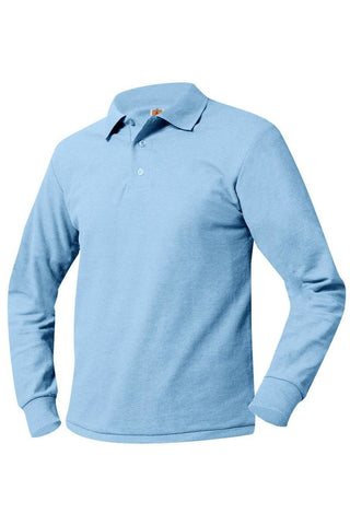 Long-Sleeve Polo Shirt - RC Uniforms