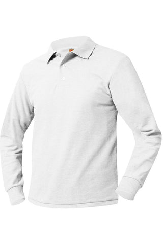 Long Sleeve Polo Shirt - RC Uniforms