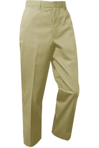 Mens Premium Label Khaki Relaxed Fit Pants - RC Uniforms