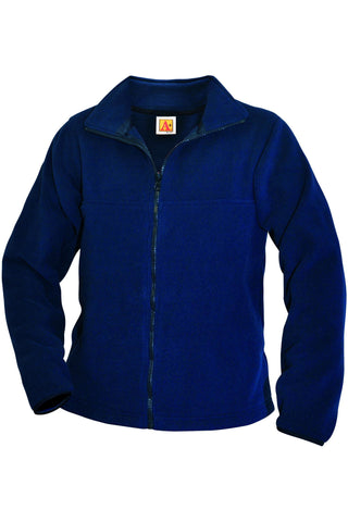 Navy Fleece Jacket - RC Uniforms