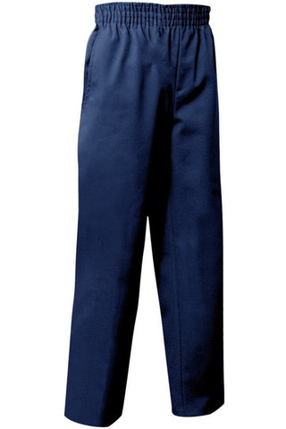 Navy Pull-on Pants - RC Uniforms