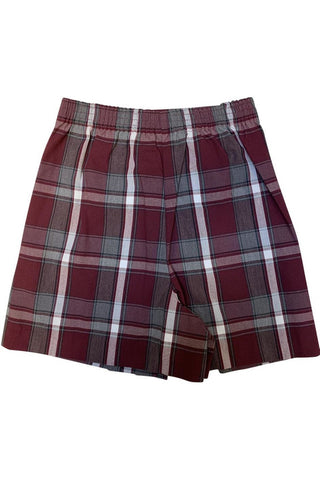 Plaid 54 Tab Skort - RC Uniforms