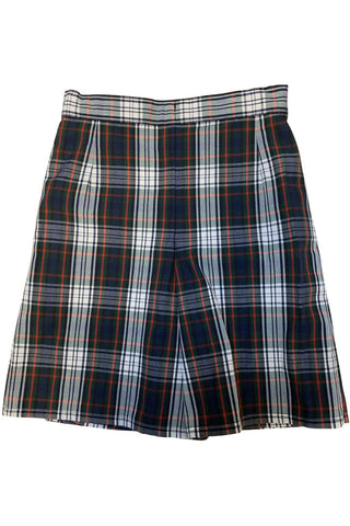 Plaid 49 Flap Skort - RC Uniforms