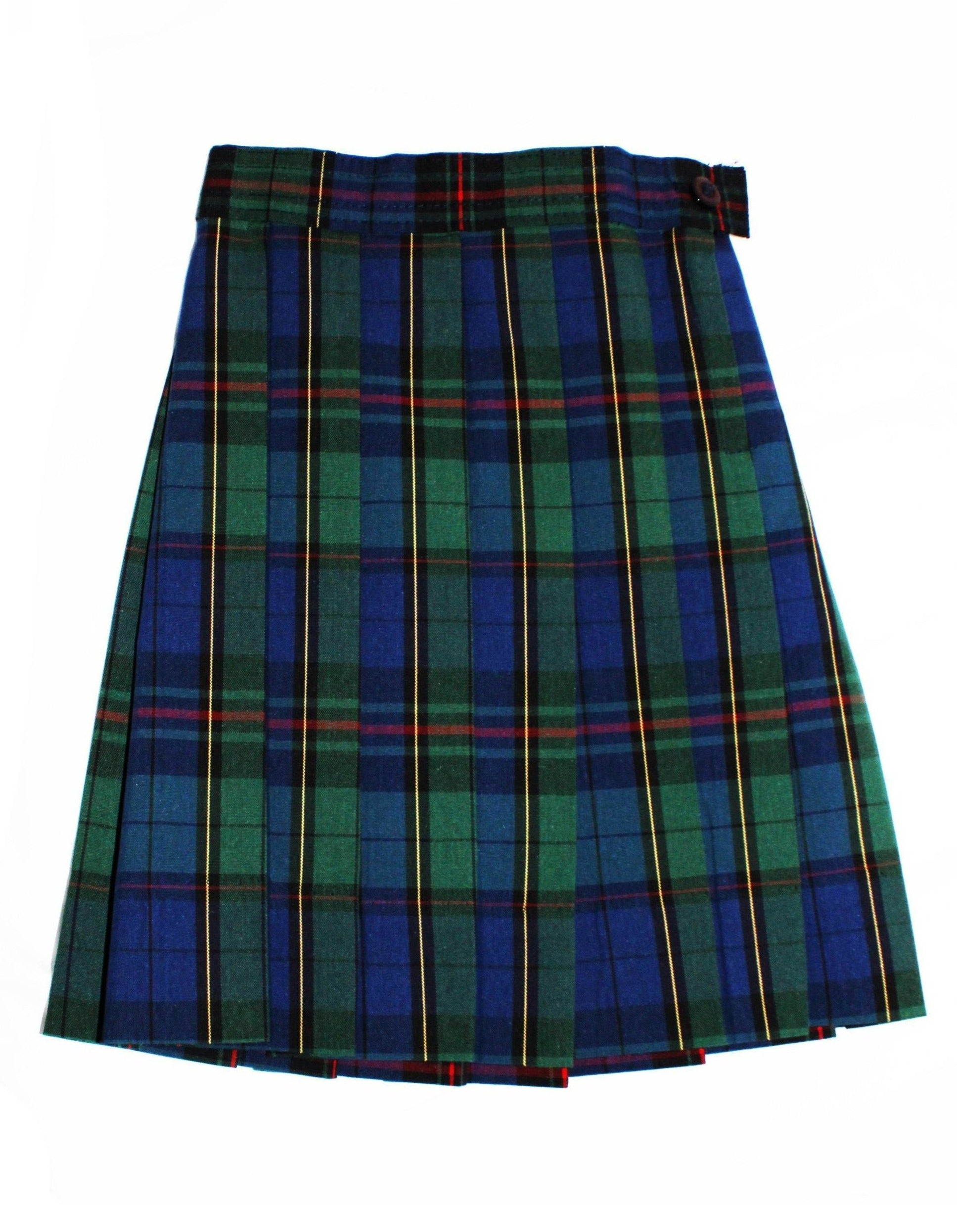 Plaid 81 Knife-Pleat Skirt - RC Uniforms