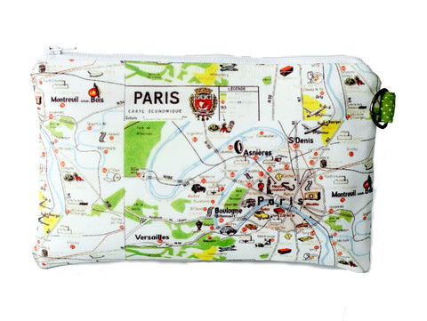 Paris Zippered Pouch
