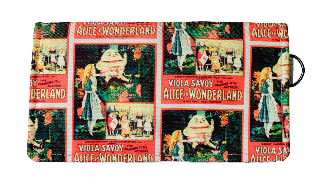 Alice in Wonderland Clutch (Red)