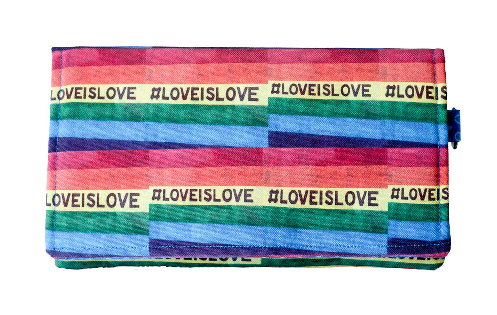 Love is Love Clutch
