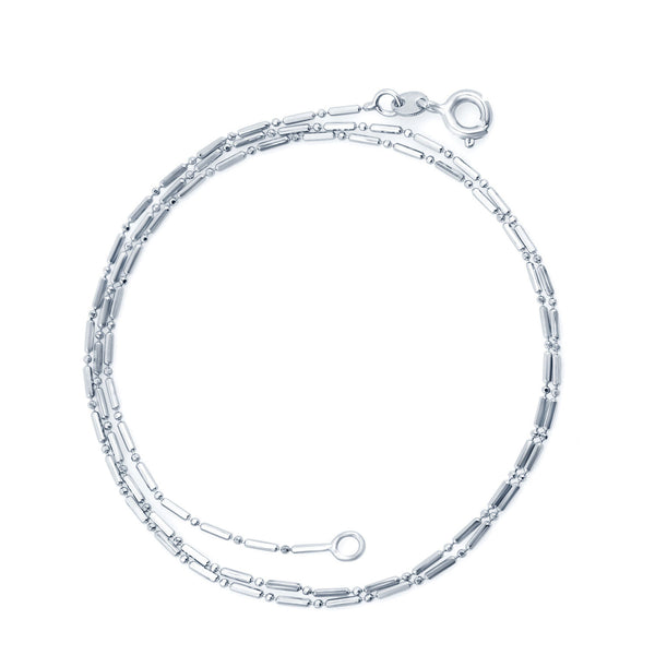 Sukkhi Rhodium plated chain