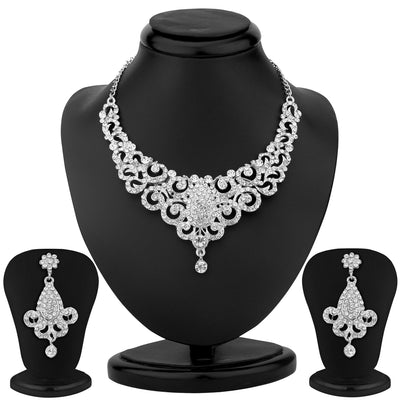 Sukkhi Stylish 2 Piece Necklace Set Combo-2