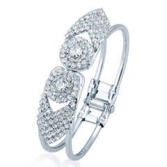 Sukkhi Marvelous Rhodium Plated AD Kada for Women