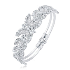 Sukkhi Incredible Rhodium Plated AD Kada For Women