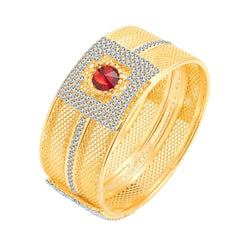 Sukkhi Incredible Gold Plated AD Kada For Women