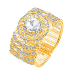 Sukkhi Marvellous Gold Plated AD Kada For Women