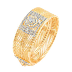 Sukkhi Graceful Gold Plated AD Kada For Women