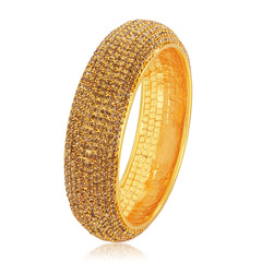 Sukkhi Gorgeous LCT Stone Gold Plated AD Kada For Women
