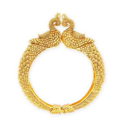 Sukkhi Fine Peacock Gold Plated Kada For Women-1