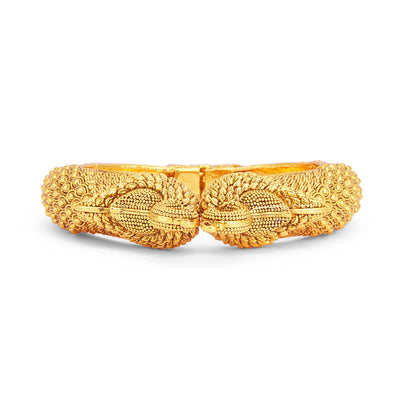 Sukkhi Fine Peacock Gold Plated Kada For Women-2