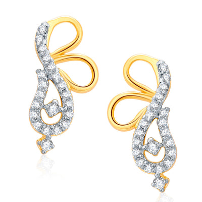 Pissara Twilight Gold And Rhodium Plated CZ Mangalasutra Set For Women-2