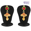Sukkhi Marvellous Gold Plated Three String AD Necklace Set