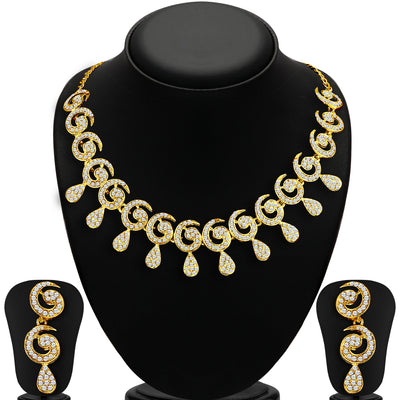 Sukkhi Marvellous 2 Pieces Necklace Set Combo-1