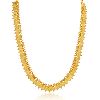 Sukkhi Royal Gold Plated Temple Jewellery Necklace Set-3
