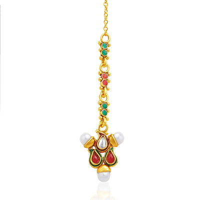 Sukkhi Charming Gold Plated Necklace Set-7