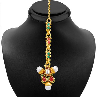 Sukkhi Charming Gold Plated Necklace Set-6