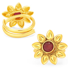 2905 Sukkhi Brilliant Gold Plated ToeRing For Women