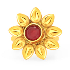 Sukkhi Brilliant Gold Plated ToeRing For Women