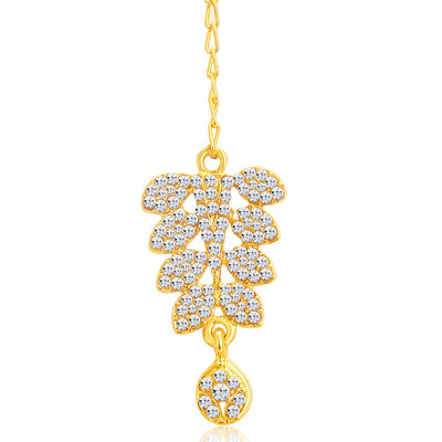 Sukkhi Dazzling Gold Plated AD Necklace Set For Women-7