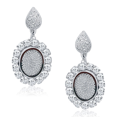 Sukkhi Modern Rhodium Plated AD Necklace Set For Women-4