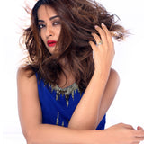 Sukkhi Surveen Chawla Collections Ravishing Gold and Rhodium Plated CZ Ring-1