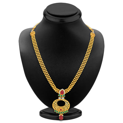 Sukkhi Fabulous Gold Plated Necklace Set For Women-2